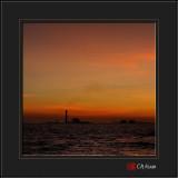 Sunset at Rayong Coastline