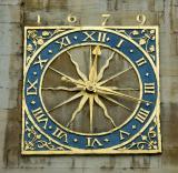 Clock - West Door of St Mary's Church