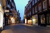 St. John's Street in Twilight