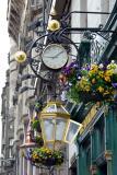 A Blurred Clock on High Street