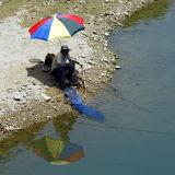 Fishing at Nine Portion River
