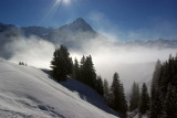 Sun, Eiger and Cloude