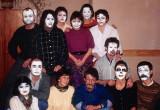living masks - psychodramatic work