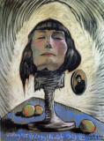 Portrait of Maria Nawrocka, 1929, pastel on paper
