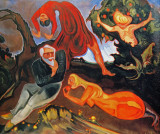 Temptation of St. Anthony, 1916-1921, oil on canvas