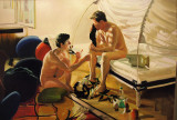 The Krefeld Project: Bedroom. Scene # 7 After the Tantrum. Unholy News, 2004