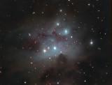 NGC 1973 1975, 1977  Sh2-279