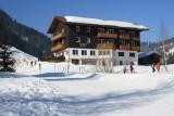 Kleinwalsertal Österreich Winterwanderung Hörnlepass / Waldhaus (15.2.2008)