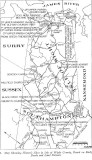 Isle of Wright VA map 1700s