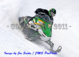 Sharon Speedway Snowmobile Racing 01/22/11