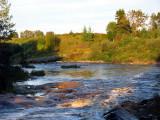 vers le coude de la rivière