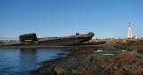 le sous-marin et le phare de Pointe-au-père