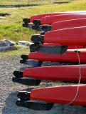 arrière de Kayak