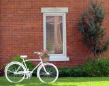 le vélo blanc de Beaumont