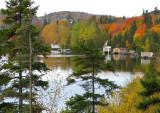 le lac en automne
