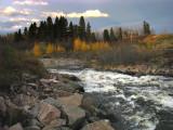 la rivière du moulin au 27 octobre 08