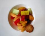 salade de fruit de l'Entrecote St-Jean