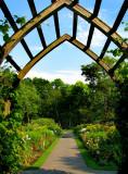 entrée au jardin des fleurs