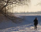 promenade à ski