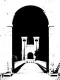 le pont de la Caille   en NB