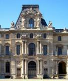 La classique façade du Louvre