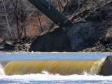digue sur la rivière Etchemin
