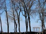 petit pavillon blanc