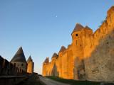 l'entremuraille de Carcassonne