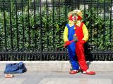 le clown des champs élysées