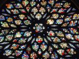 Rosace de la sainte chapelle