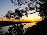 coucher de soleil au Saguenay