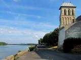 la route au bord de la Loire