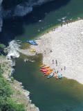 halte sur l'Ardèche