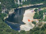 Arrêt sur l'Ardèche