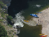 rapide sur l'Ardèche