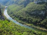 le long fil de l'Ardèche
