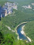la rivière Ardèche