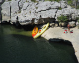 kayaks échoués