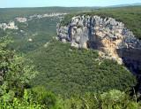 falaise d'Ardèche