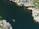 Kayak en eau profonde