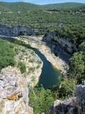 courbe de l'Ardèche