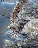 glissade d'eau