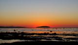 Dernière lueur dans la baie de Rimouski