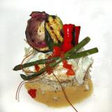 poisson blanc et ses légumes