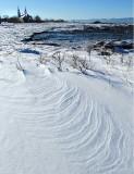 rides de neige à St-Roch des Aulnaies