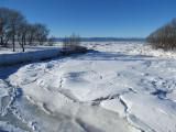 embouchure de la rivière Trois Saumons