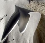 Le vent, maitre sculpteur