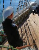 Un matelot dans l'escalier