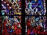 vitrail de la cathédrale de Strasbourg
