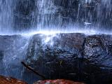 au pied de la chute Kabir Kouba
